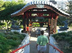 Entrance to the Pagoda Bar at Yamashiro