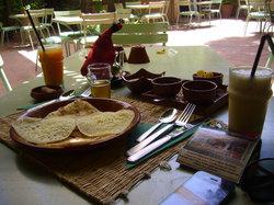 Cafe Jardin Majorelle Marrakech