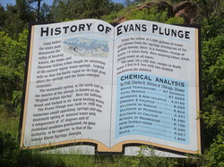 Evans Plunge Mineral Springs