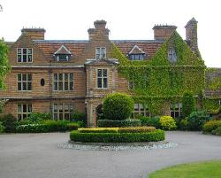 Front of Horwood House