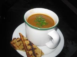 EITS Seafood Bisque served with Toasted Wholewheat Bread