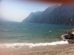 the lake at riva