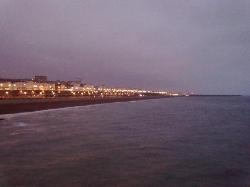 Brighton seen from the Pier.