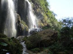 Cascada el Aguacero