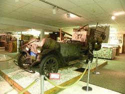 Beverly Hillbillies Car at Ralph Foster Museum