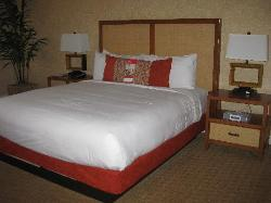 Bed in Strip View Room