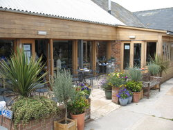 Bluebells Cafe at Briddlesford Lodge Farm