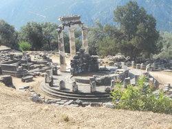 Ruinerne i Delfi