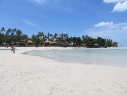 Strandabschnitt nördlicher Chaweng Beach