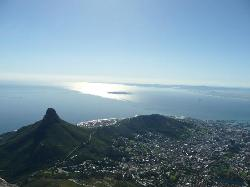 One of the many magnificent views from Table Mountain