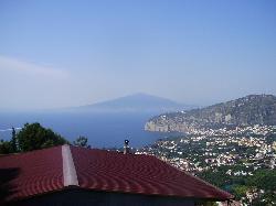 View to Vesuvius