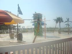 Kiddie splash park