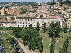 Kolbe Hotel viewed from the Roman Forum