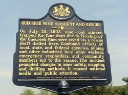 ‪Quecreek Mine Rescue Site‬