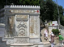La mosquée Eyüp Sultan (Eyup Sultan Camii)