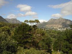 Blick auf Hout Bay von Intaba Lodge