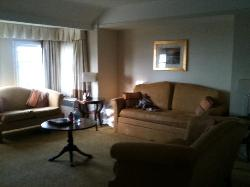 Junior Suite sitting area - huge!