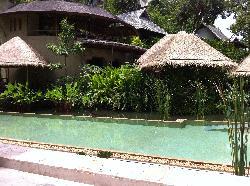 View near the Amrita Café near the pool
