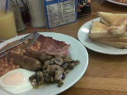 non greasy breakfast