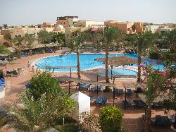 main pool from the room