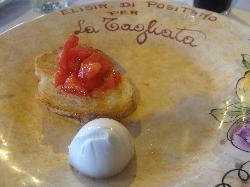 Bruschetta and Fresh Mozzarella