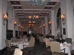 The beautiful Fairmont Room Restaurant
