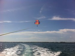 Purple Island Parasail
