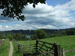 Walk down to windermere from the hotel