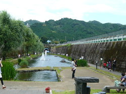 Taman terowongan Yusui Takamori