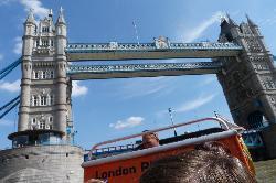 Under Tower Bridge... a highlight...