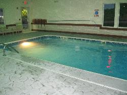 Nice indoor pool to play in