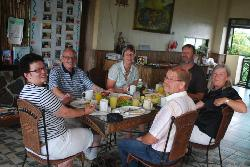 our guests enjoying breakfast