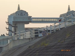 Numazu Flood Gate Observation Deck View-O