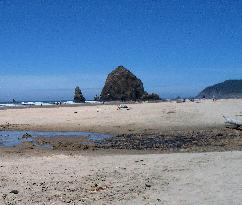 Haystack Rock, The view from our room