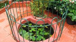 Small artificial pond