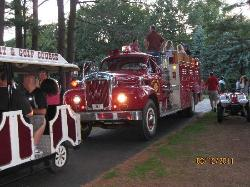 Friday night rides at the lake - Sunny Hill fire engine