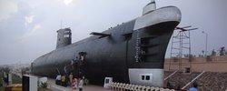 Le sous-marin musée INS Kursura