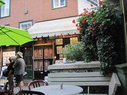 Cafe Terrasse La Nouvelle-France
