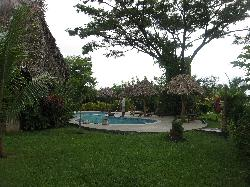 The pool and rancho