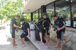 Akumal Dive Shop Diving instructions