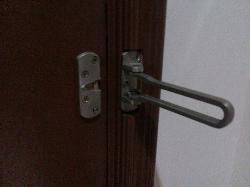 Missing Secondary Door Lock