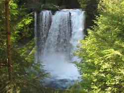 Sahalie and Koosah Falls