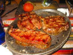 Degustazione di carne Uruguayana
