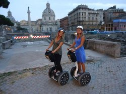 Finding Segway Rome
