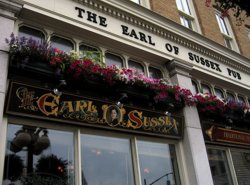 The Earl of Sussex