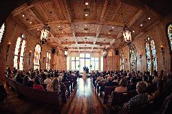 Awe-inspiring Honey Lake Chapel provides the perfect setting for a church wedding for up to 250