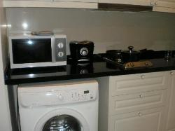 洗濯乾燥機です。終了までに4時間要