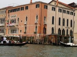 The view from the Grand Canal