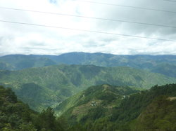 Road from Baguio to Bontoc
