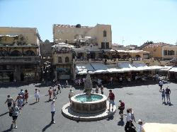 The old town Rhodes